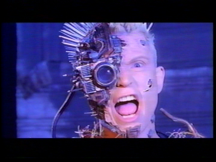cyberpunk Billy idol